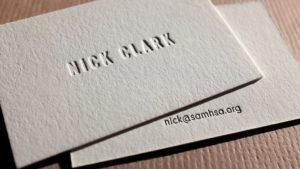 Carti vizita letterpress design minimalist conceptie executie print tipografie campanie publicitara